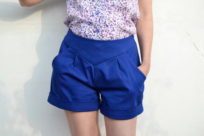 chataigne shorts front