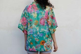 muslin kimono back iii